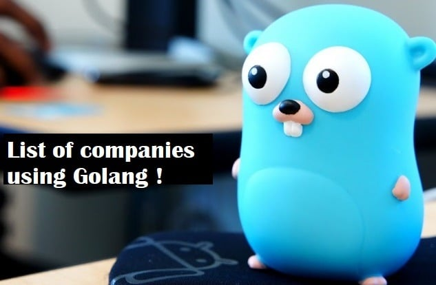 golang in production, Who is using golang in production ?