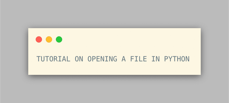 How to open file in python